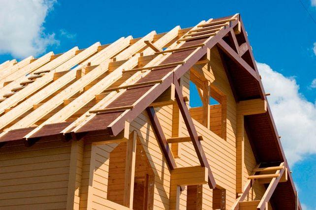 Картинки по запросу Как сделать двускатную крышу частного дома своими руками.