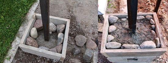Беседки из натурального камня и искусственного своими руками - Строительный сайт