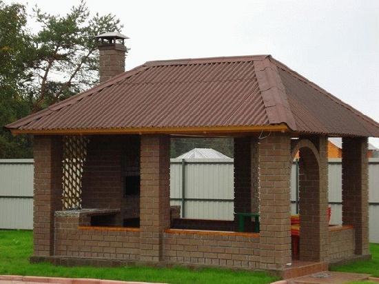 Проект и строительство крыши для беседки своими руками - Строительный сайт