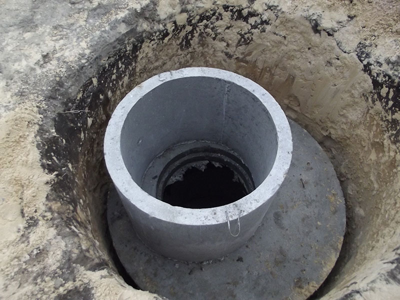 Как сделать выгребную яму из бетонных колец 85